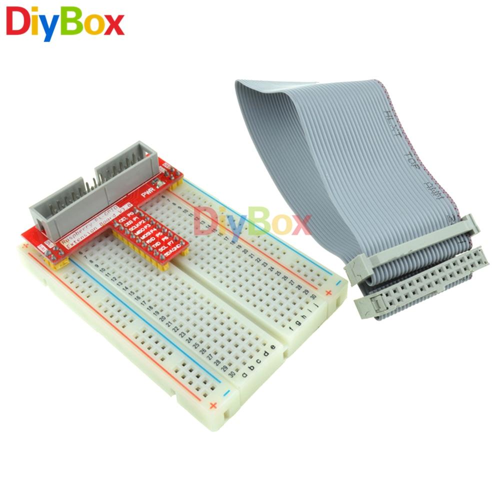 GPIO Kit Extension Board Adapter Breadboard 26pin GPIO Ribbon Cable For Raspberry Pi