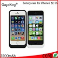 On Sale 2200mAh power case External Backup Battery charger for iPhone 5/5s/5c SE Freeshipping