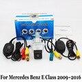 Para Mercedes Benz Clase E W212 C207 W213 2009 ~ 2016/RCA Cable o Inalámbrica HD Gran Angular de Lente de Visión Nocturna del CCD Cámara de Visión Trasera