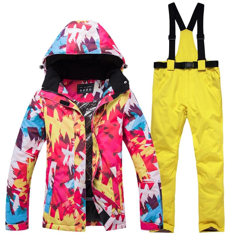 Здесь можно купить   2019 new ski suit women
