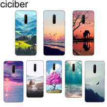 ciciber Landscape Phone Cases For Oneplus 7 Pro 1+7 Pro Soft TPU Cover for Xiaomi 9 Coque For Redmi Note 7 6 Pro Fundas Shell