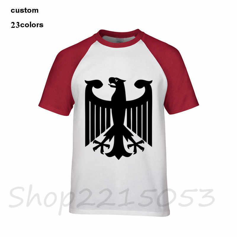 big sale ce595 794c5 Streetwear Deutschland German Flag Crest Germany Eagle T Shirts Men 2018  New Arrival Male O-Neck T-Shirt summer Tops male TShirt