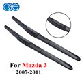 Oge Windscreen Wiper Blades For Mazda 3 2009-2013 24''+19'' Pair Natural Rubber Windshield Auto Car Accessories