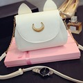 Fashion Women Messenger Bag PU Leather Sailor Moon Bag Cat Shape Handbags Girl Female Shoulder Bag Crossbody Bag bolso feminina