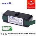 Sparkole 5.3Ah batería de Li-Ion de 14,8 V para iRobot Roomba 500, 600, 700, 800 Series 510, 531, 550, 560, 580, 620 630, 650, 760, 770, 780, 870, 880