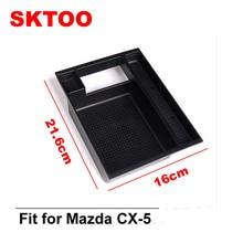 SKTOO Car Armrest font b Box b font Storage Central Console Storage Pallet Armrest Container font