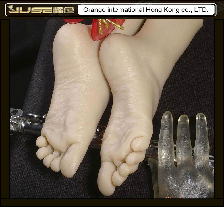 Top Quality New Sex Products,Soft Feet Fetish Toys for Man,Young Girl Lifelike Female Feet,Fake Feet Model for Sock Show,FT-3600 2015 new top quality foot fetish toys solid silicone female feet feet fetish toys for man lifelike skin woman fake feet ft 3601