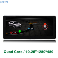 Aoluoya Quad Core Android 4 4 Car Audio DVD Player For AUDI Q5 2015 AUDI A4L