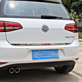 For Vw Volkswagen Golf 7 Mk7 stern Door Sticker Stainless Steel back door trim Car Styling Accessories