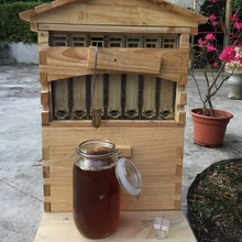 Wooden Beehive Box With…