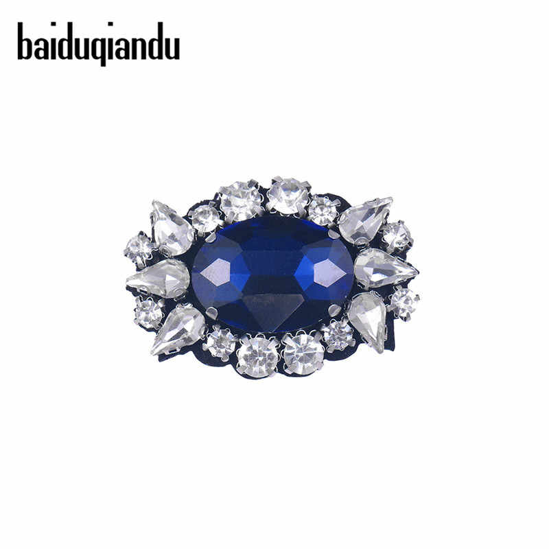 baiduqiandu Crystal Vintage Eyes Brooches for Women Wedding Party Meeting Brooch  Pin Fabric Dress Coat Accessories 2ee0a2349e00