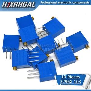 10pcs 3296X-1-103LF 3296X 10K ohm 103 3296X-1-103 3296X-103 X103 Trimpot Trimmer Potentiometer