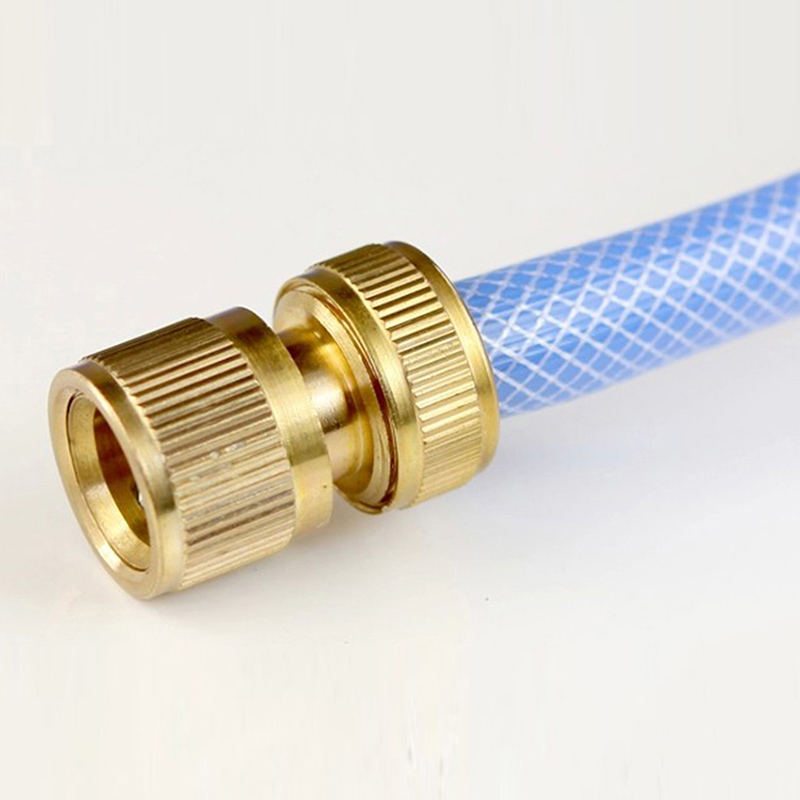 New hot copper tube snap adaptor fitting garden outdoor for Copper water pipe connectors