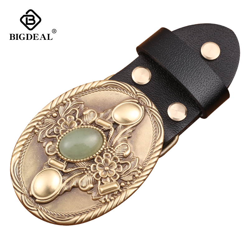 Luxury Gold Series Metal Belt Buckle Western Cowboy Boots Shoes Buckles Fit 4cm Wide Belt Men,Women Jeans,Clothes Accessories