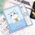 Kawaii Cartoon Cat блокнот граффити  спиральный блокнот и журналы  дорожный планер  блокнот  лучший подарок на выпускной