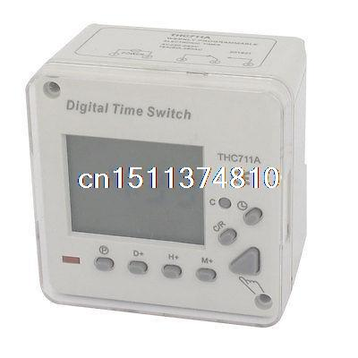 THC711A DIN Rail Mount Digital Weekly Programmable Timer Relay Switch AC 250V лидия григорьевна березовая история русской культуры практикум 2 е изд испр и доп учебное пособие для академического бакалавриата