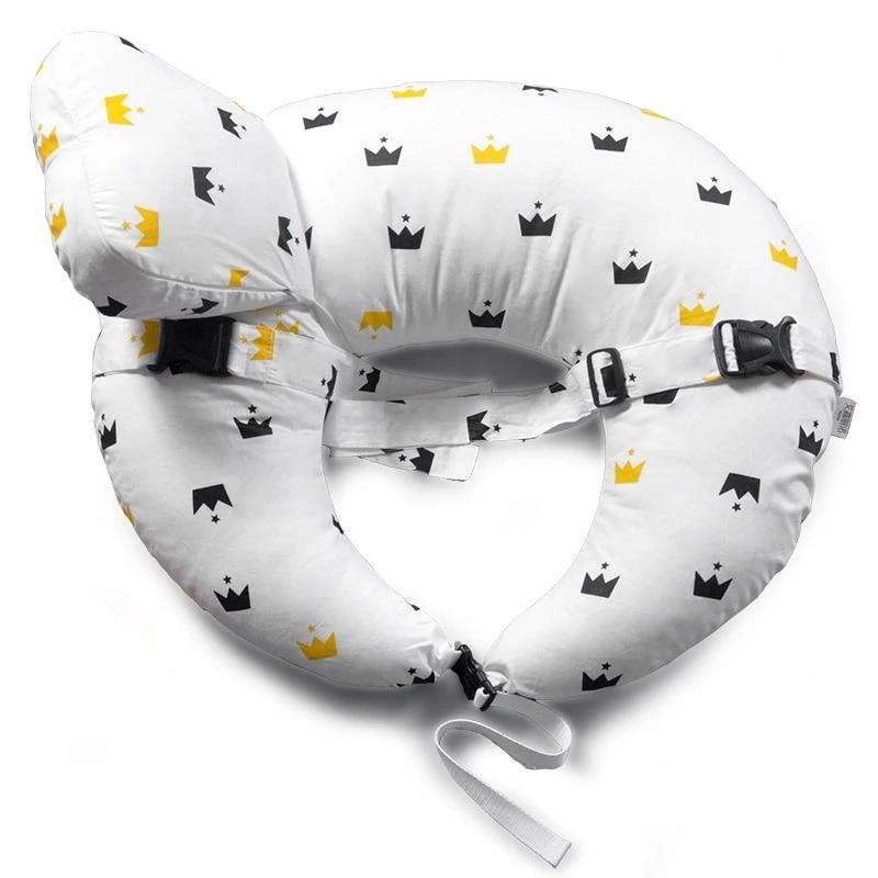 2 предмета/партия мягкие Подушки для детей многофункциональный для новорожденных кормящих грудью Подушки детские ребенок учится сидеть По...
