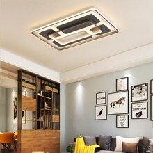 Потолочные светильники квадратные креативные гостиничные бар простые приглушенные светильники с дистанционным управлением современные светодиодные потолочные лампы