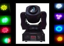 Новый светодиодный 60 Вт пятно гобо переезд головного света dmx 9/11 каналов led 7 цвета 7 различный пятна света dj party club свадебные