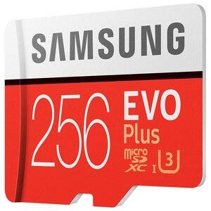 Image 3 - سامسونج tf بطاقة MB MC EVO Plus microSD256GB بطاقة الذاكرة UHS I 256GB U3 Class10 4K UltraHD بطاقة ذاكرة فلاش microSDXC