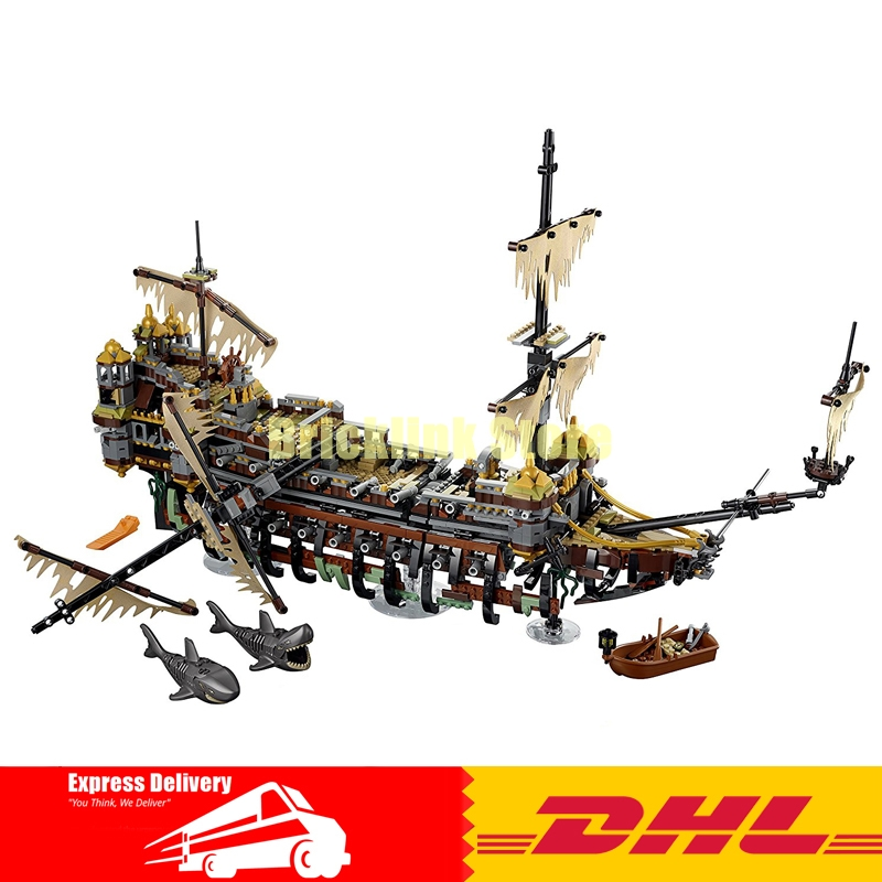 Lepin 16042 2370Pcs New Pirate Ship Series The Slient Mary Set Children Educational Building Blocks Bricks Toys Model Gift 71042 lepin 22001 pirate ship imperial warships model building block briks toys gift 1717pcs compatible legoed 10210