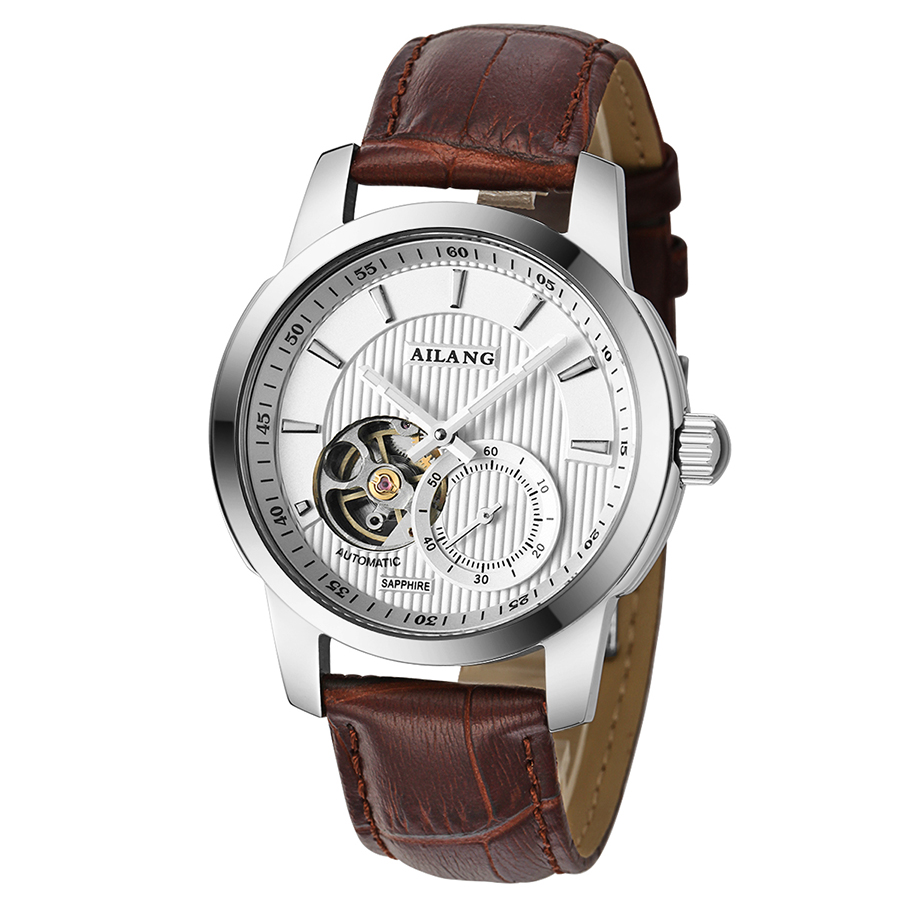 new mens fashion AILANG 2016 automatic mechanical watches tourbillon leather luxury brand sports watch relogio masculinonew mens fashion AILANG 2016 automatic mechanical watches tourbillon leather luxury brand sports watch relogio masculino