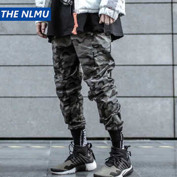 Hip Hop Pencil Pants Men Military Cargo Pants Streetwear Men Trousers Camouflage 2019 Spring Mens Tactics Pant HD065 - DISCOUNT ITEM  35% OFF All Category