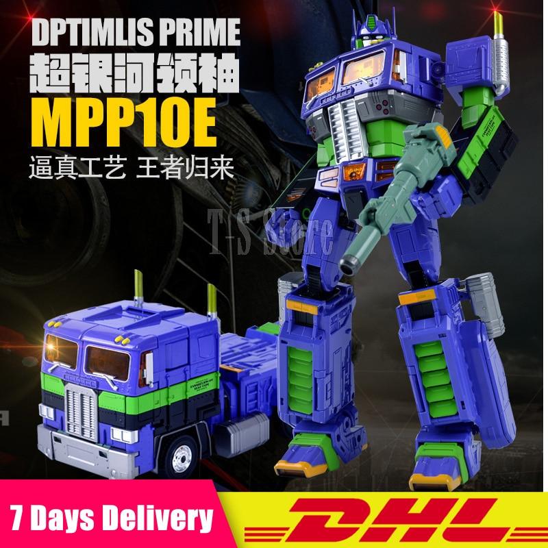 2018 Wei jiang MPP10 Diamond Film V 5 Skyreach Pillar Deformation Day Deformation Robot Toy Alloy Transformation Toy G1 MPP10