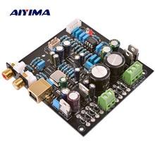 Aiyima cs4398 pcm2706 usb dac decodificador pcm2706 placa de decodificação de áudio usb pcm2706
