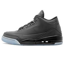 3804edda33ac Nike Air Jordan AJ3 5Lab3 negro Joe 3 negro reflectante de Baloncesto de  los hombres zapatos deportivos zapatos al aire libre de.