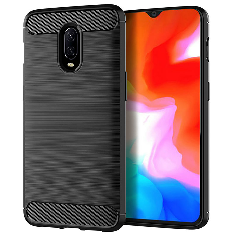 for <font><b>OnePlus</b></font> 6T <font><b>A6013</b></font> WIERSS Shockproof phone case cover for <font><b>OnePlus</b></font> 6T <font><b>A6013</b></font> for <font><b>OnePlus</b></font> 6 A6003 Slim Armor case Back cover image