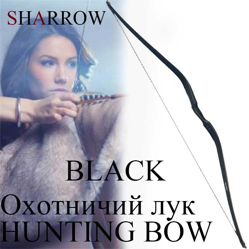 Archery 30-50lbs Traditional 60inch Laminated Recurve Bow Longbow Outdoor Hunting Shooting Mongolian Ride Bow стоимость