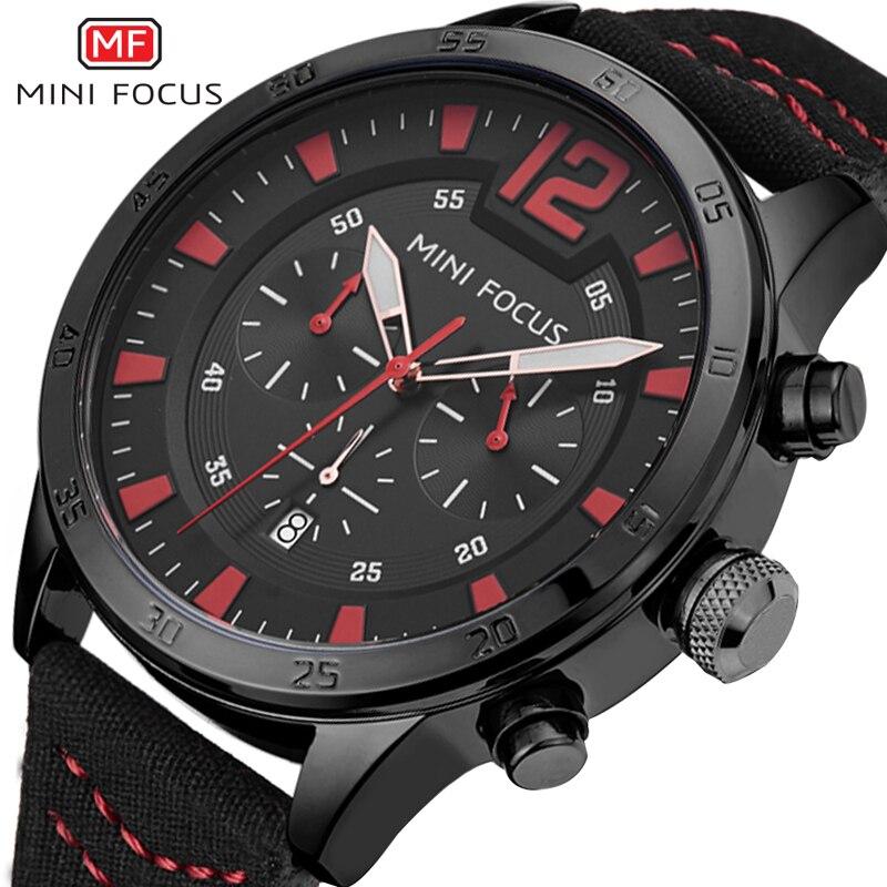 MINIFOCUS Watches Men Watch Luxury Brand Analog Men Military Watch Reloj Hombre Whatch Men Quartz Curren Male Sports Watches цена и фото