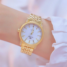 2019 Rose Gold Woman Watch Luxury Brand Stainless Steel Ladies Watch Quartz Women Watches Lady's Wristwatch Clock reloj mujer цена