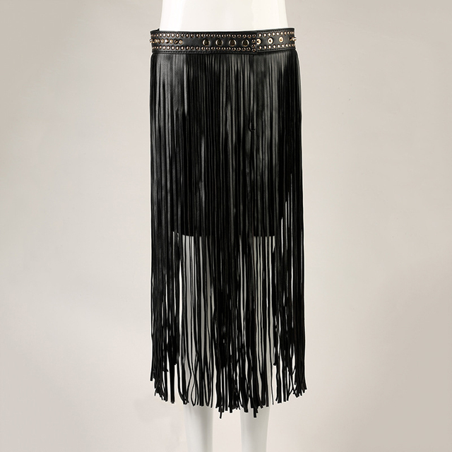 Franja Borla Remache Femenino Que Lleva la Cuerda Borla Larga Faja Cinturón Negro Para Mujer de Cintura Alta Correa Decorativa Cinturones de Moda 35 cm 72 cm