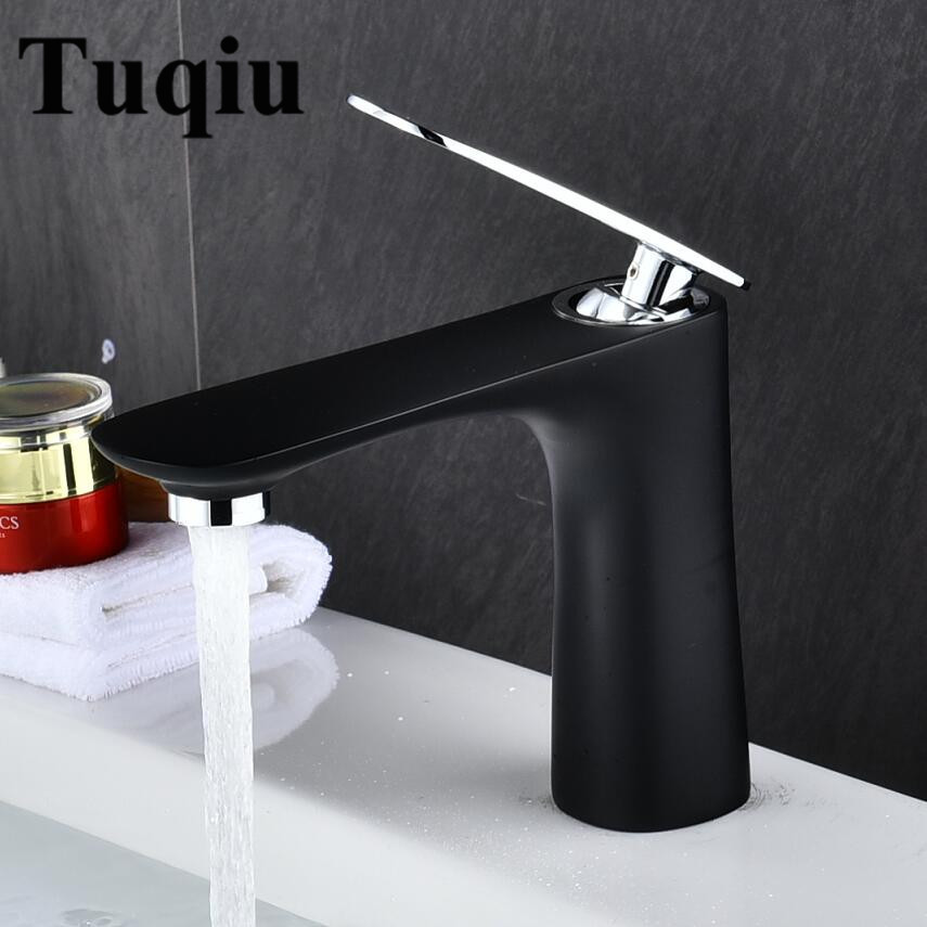 Luxury Wash Basin Tap Bathroom Basin Faucet Brass Chrome/Gold/Black/White/Red/Orange Basin Mixer Tap Hot Cold Crane Sink faucet copper toilet wash basin faucet hot and cold bathroom sink basin faucet mixer water tap single hole basin faucet chrome plated