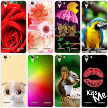 Cases For Lenovo Vibe K5 K 5 Print Phone Case Covers For Lenovo K5 Plus Lemon 3 A6020 A6020a46 A6020a40 Soft Silicone Skin Shell(China)