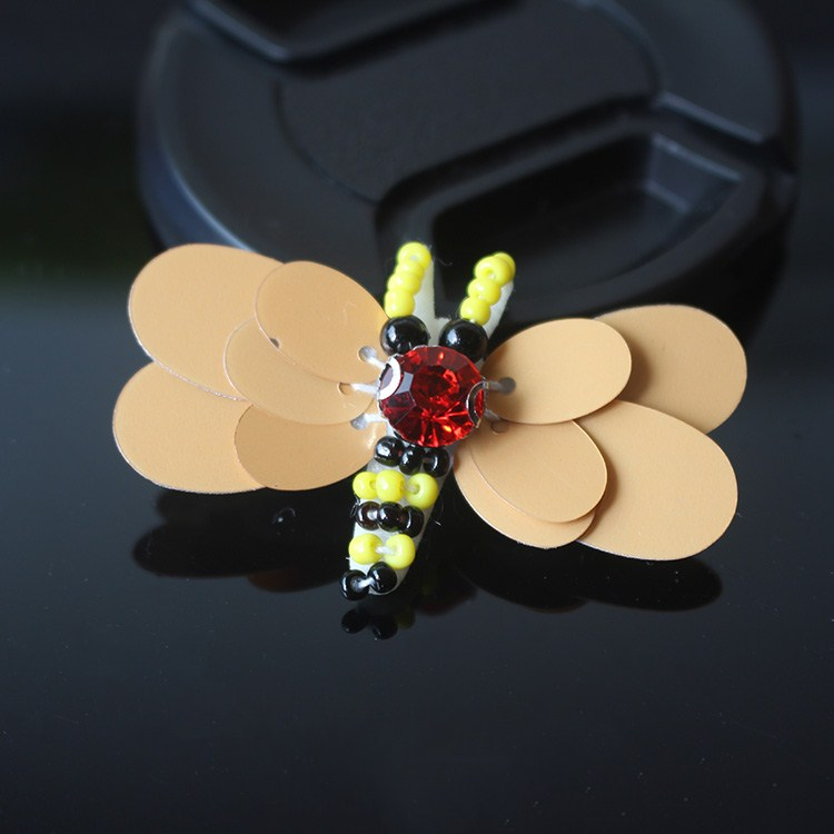 10pcs/lot NEW Dragonfly Bee Cloth Can Be Used for The Decoration of The Hat and Shoes DIY Clothing Accessories