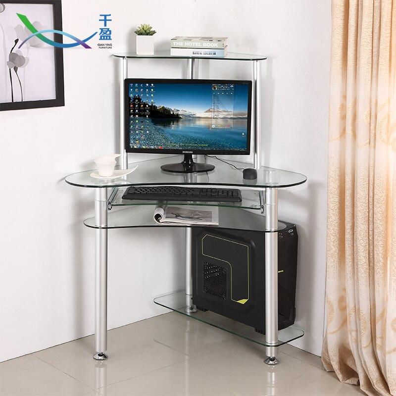 modern computer desktop home minimalist corner stu cheap office tables