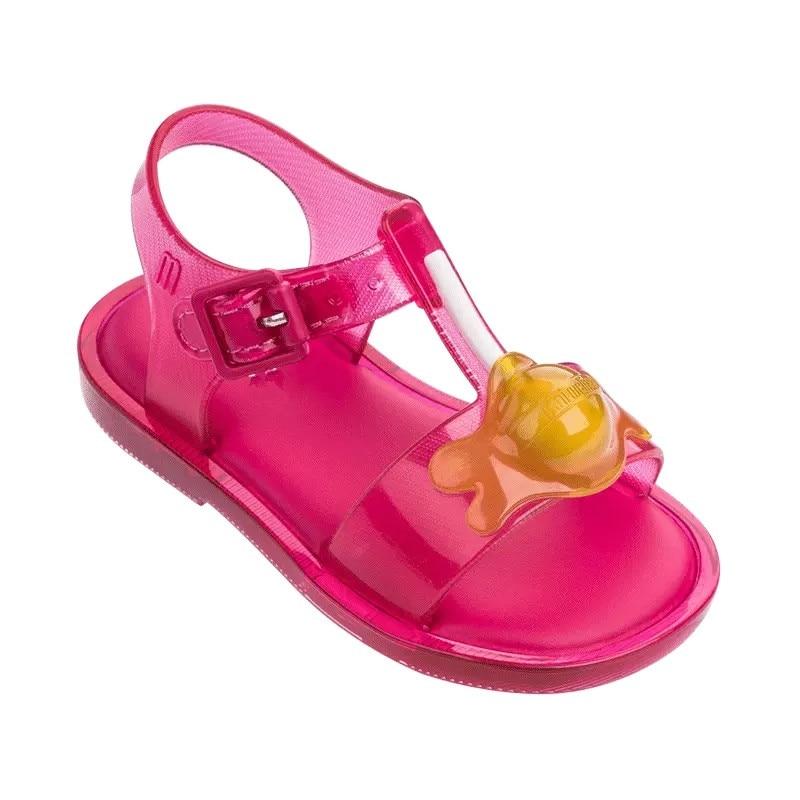 4bd16e3ff 2019 New Mini Melissa Design Summer Girls Sandals Shoes Breathable Sandals  Children Sandals Lovely Mini Melissa Sandals