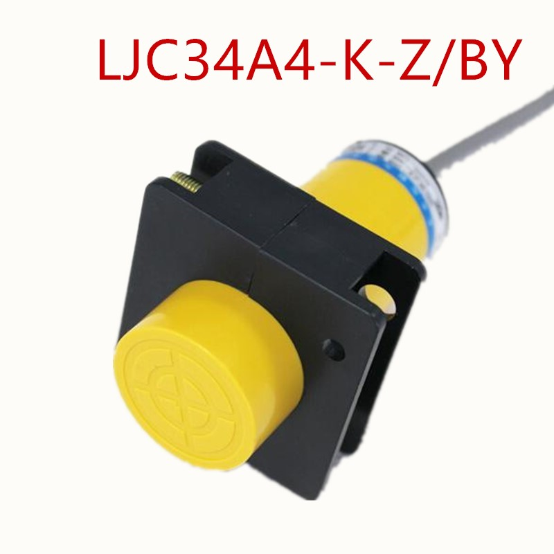 1Pcs LJC34A4-K-Z/BY 34MM NO PNP 25MM Capacitive proximity sensor switchDetection distance 3-WIRE DC6-36V+mounting bracket 30mm capacitive proximity sensor switch nc 25mm detection distance ljc30a3 h j dz 2 wire ac90 250v mounting bracket