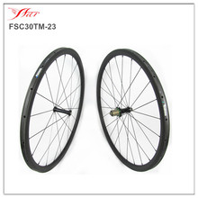 990g superlight carbon wheelset for road bike 30mm x 23mmm tubular rims with Extralite Cyber hub 18 months warranty