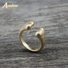 Anslow Fashion Jewelry New Design Unisex Adjustable Men Women Party Birthday Finger Rings Wholesale Hot Accessories LOW0022AR