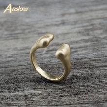Anslow-anillo ajustable Unisex, joyería de moda, nuevo diseño, para fiesta de cumpleaños, accesorios, LOW0022AR, venta al por mayor
