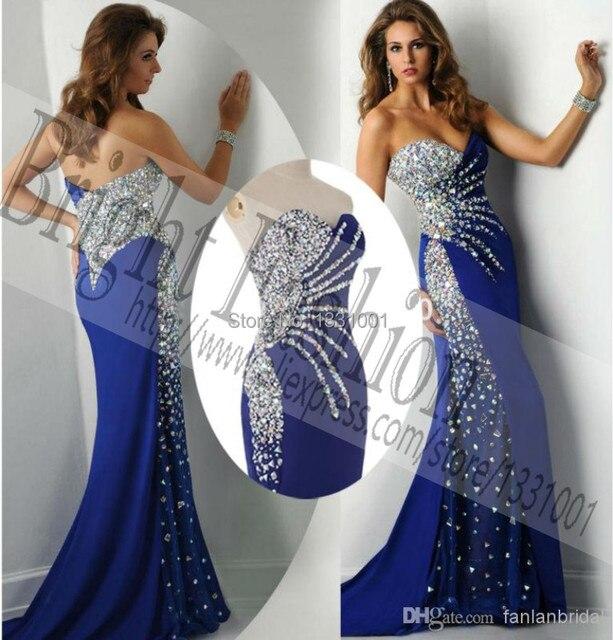 71dcfb0766 Long Backless Prom Dresses 2015 New Fashion Sexy Mermaid Party Dress For  Women Vestido De Festa Longo Com Pedraria Online Store