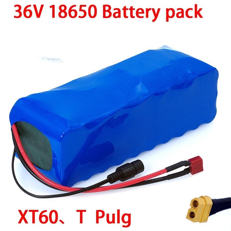 36 V 18650 Литий Батарея 36v 16ah Электрический велосипед Батарея е байка 36В 16AH 1000W скутер Батарея с 30A BMS XT60 штепсельной вилки
