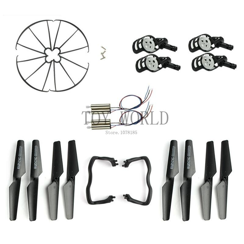 Syma Value Meal Wholesale Syma X5 X5C Spare Parts Pack Include Motors Blades& Propeller& Protection Cover&Landing Skid&Motors handi bag super value pack trash bags 30gal 69mil 36 x 29 5 black 60 box