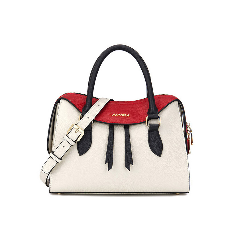 The first layer of leather European and American wind hit color killer bag 2018 new fashion elegant shoulder bag europe and the first layer of leather woven bag bag leather making small bag 2018 new single shoulder bag lady