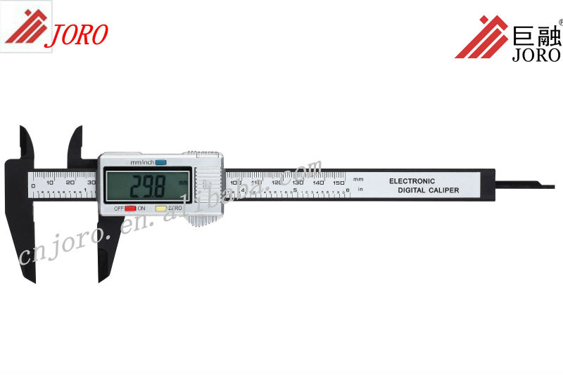 Types Of Measuring Tools 150mm Easy Reading Plastic Caliper In