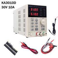 30V 10A Precision Variable Adjustable DC Linear Power Supply Digital Regulated Lab Grade 4 Digit Led Displays KA3010D